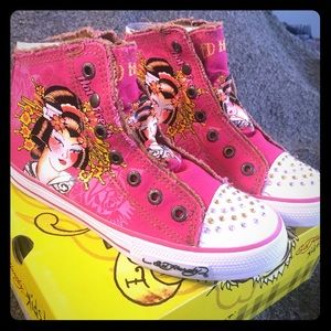 Ed Hardy Kids 11FTI103K Girls Size 4 *NEW*